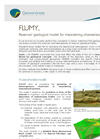FLUMY, Reservoir geological model for meandering channelized systems